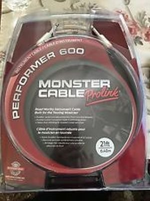 MONSTER CABLE PROLINK INSTRUMENT PERFORMER P600 CAVO 6,40MT