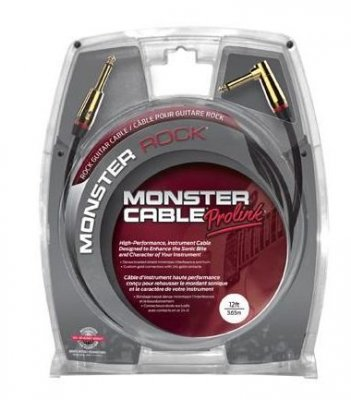 MONSTER CABLE PROLINK ROCK CAVO 3,65 MT