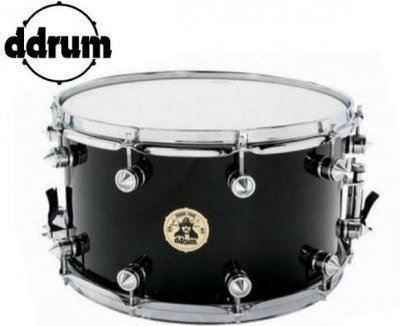 DDRUM RULLANTE VINNIE PAUL 8X14 BLACK TUBE LUG